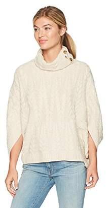Design History Women's Cocoon W/Split Cowl Nk Sweater