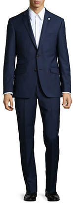 Ted Baker NO ORDINARY JOE Joey Micro Check Wool Suit