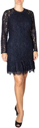 Adelyn Rae Alicia Lace Cotton Blend Sheath Dress