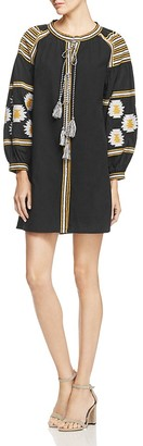 Velzera Embroidered Tunic Dress $68 thestylecure.com