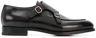 Santoni buckle fastened loafers