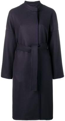 Pinko belted mid-length coat