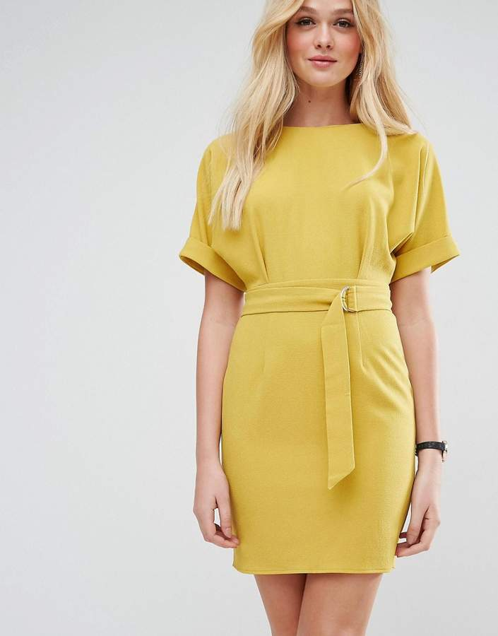 Asos Mini Wiggle Dress with D-Ring Belt