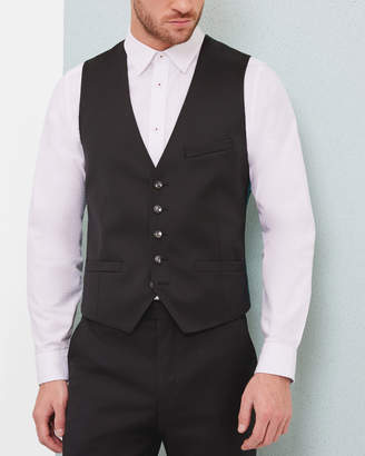 Ted Baker RAISEW Slim fit wool vest