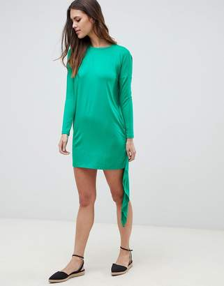 Asos T-Shirt Dress With Cape Back