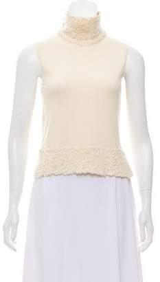 Christian Dior Sleeveless Knit Top