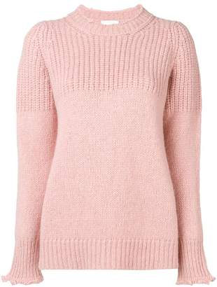 Dondup round neck knit jumper