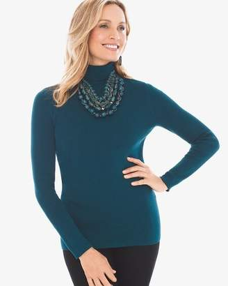 Chico's Chicos Coolmax Turtleneck