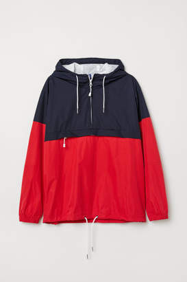 H&M Anorak with Hood - Blue