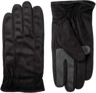 Isotoner Faux Suede Cold Weather Gloves