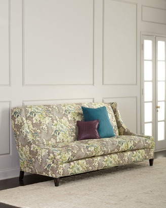 """Old Hickory Tannery Tamika Floral Sofa, 88.5"""""""