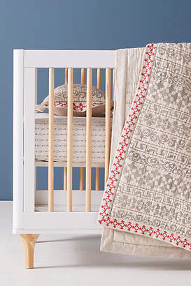 Anthropologie Dottie Toddler Quilt