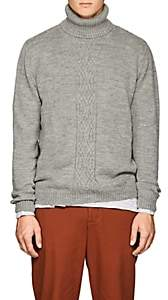 Barneys New York Men's Wool Turtleneck Sweater-Gray