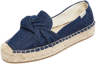 Soludos Knotted Platform Smoking Slippers $75 thestylecure.com