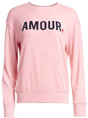 Sundry Amour Graphic Sweater