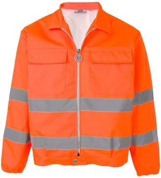 GCDS contrast stripe jacket
