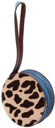 Diane von Furstenberg Pony-style Calfskin Clutch Bag