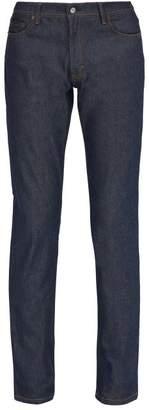 Acne Studios North Slim Leg Jeans - Mens - Blue