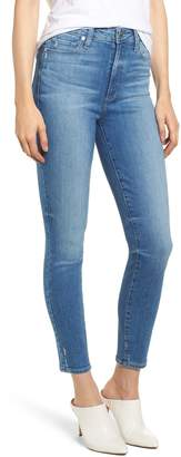 Paige Transcend - Margot High Waist Ankle Ultra Skinny Jeans