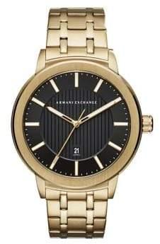 Armani Exchange Stainless Steel Sleek Bracelet Watch
