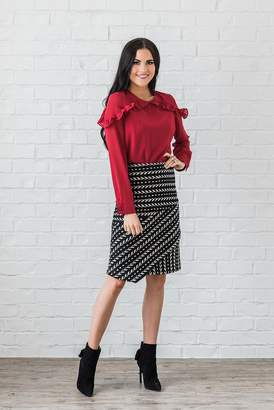 Rachel Parcell Amy Wrap Skirt