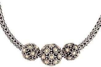 John Hardy Jaisalmer Three Bead Necklace