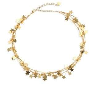 Jules Smith Designs 14K Goldplated Star Choker