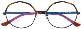 Marni (マルニ) - Marni Eyewear ジオメトリック 眼鏡フレーム