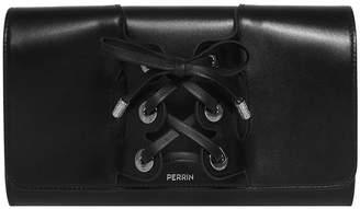 Perrin Paris Le Corset Calfskin Clutch Bag