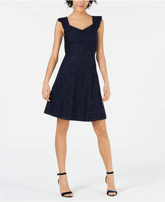 e7925c3a1405 Petite Fit And Flare Dress - ShopStyle