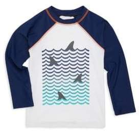 Appaman Baby's, Toddler's, Little Boy's& Boy's Shark Fins Rash Guard