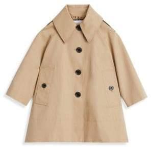 Burberry Little Girl's& Girl's Trench Coat