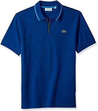 Lacoste Men's Short Sleeve Super Light Graphic Collar Polo