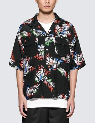 Monkey Time Oversized Aloha Shirt