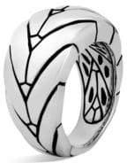 John Hardy Modern Chain Sterling Silver Medium Ring