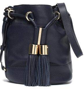 See by Chloe Vicki Pebbled-Leather Bucket Bag