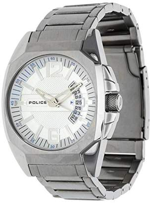 Police Men's PL-12897JS/04M Interstate Dial Stainless-Steel Bracelet Watch