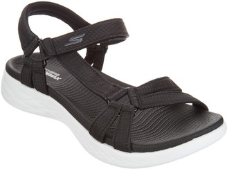 Skechers GO Walk Move Quarter Strap Sandals - Brilliancy