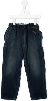 Denim Dungaree straight leg jeans