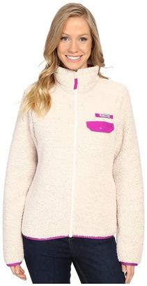 Columbia - Harborside Heavy Weight Full Zip Fleece Women's Coat $80 thestylecure.com