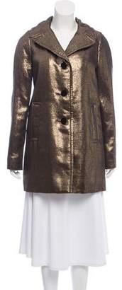 Tory Burch Lamé Casual Jacket