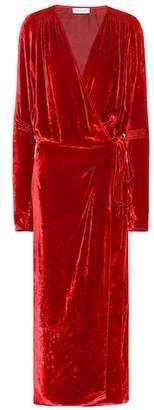 ATTICO Victoria velvet dress