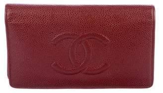 Chanel Timeless Yen Wallet