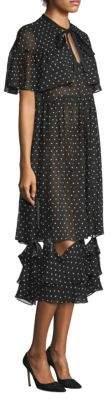 Sandy Liang Bic Polka Dot Dress