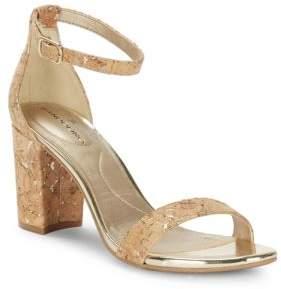 Bandolino Armory Cork Sandals $59 thestylecure.com