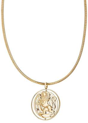 RETROUVAI Women's Fantasy Medallion Necklace