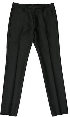 Calvin Klein Collection Textured Flat-Front Pants