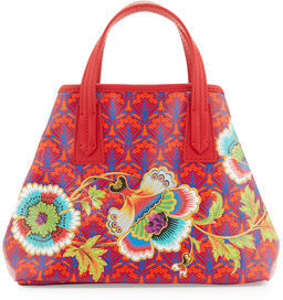 Liberty London Marlborough Paradise Mini Tote Bag $545 thestylecure.com