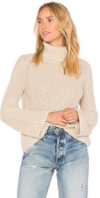 525 America Turtleneck Bell Sleeve Sweater