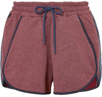 LNDR - Jog Cotton-blend Jersey Shorts - Burgundy